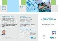 Flyer Blutspendezentrum - Klinikum Ludwigshafen