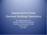 Department of State Overseas Buildings Operations - Directrouter.com