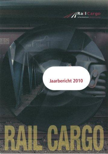 Jaarbericht 2010.indd - Rail Cargo Information Netherlands