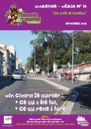 Journal du Quartier-village 10 - Ville d'Agen