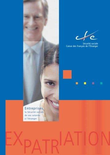 •Guide Entreprises - Caisse des Français de l'Etranger