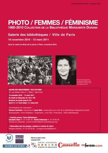 Télécharger le dossier de presse au format pdf - Paris Bibliothèques