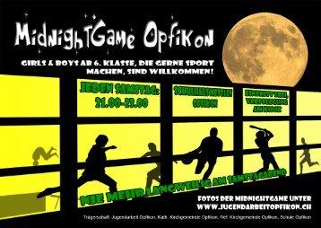 MGO Flyer - Jugendarbeit Opfikon