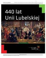 """Zeszyt Historyczny """"440 lat Unii Lubelskiej"""" - Lublin"""