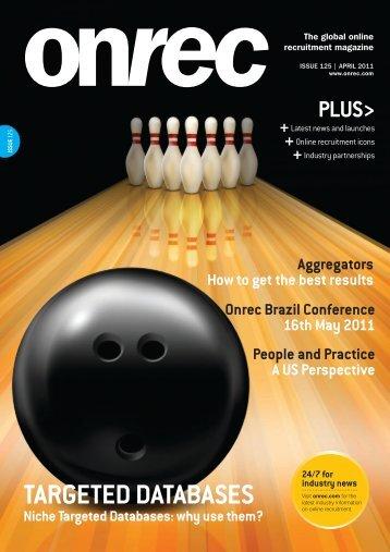 Onrec Magazine - Issue 125 - April 2011 - Online Recruitment ...
