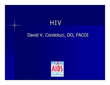 AIDS/HIV Update