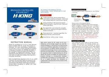 King kr 85 Manual