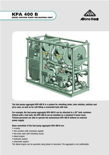 KPA 400 B - Alfons-haar.de 4ca3c94825b