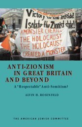 in great britain and beyond anti-zionism in great britain and beyond