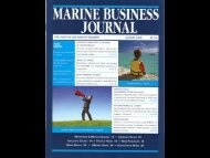 Marine Business Journal, August 2008 - Pursuit Boats