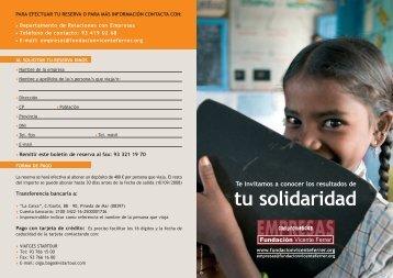 empresas - Fundación Vicente Ferrer