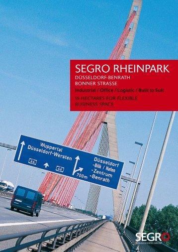 Segro Rheinpark (PDF-Datei 1,5 MB) - Duesseldorf Realestate