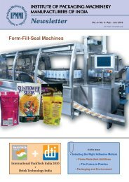 Form-Fill-Seal Machines - Institute of Packaging Machinery ...