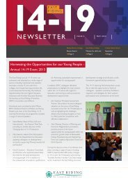 14-19 Newsletter Issue 3 - May 2013 - eRiding