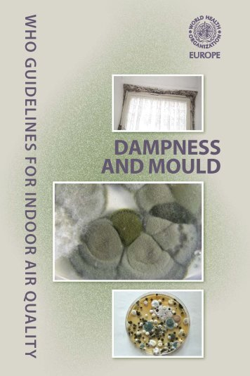 Dampness and Mould - WHO guidelines for indoor air quality - PRWeb