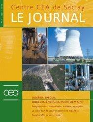 Journal de Saclay n°20 - CEA Saclay