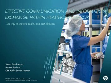 effective communication and information ... - World of Health IT