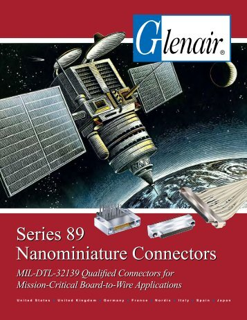 Glenair Series 89 Nanominiature Connectors - MPS Terminal
