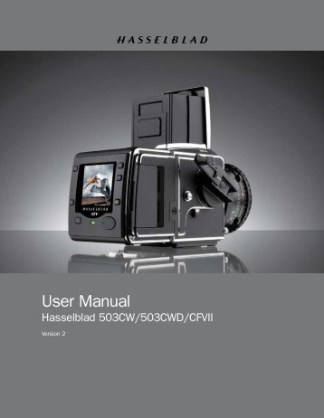 User Manual - Hasselblad.jp