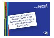 Vorteile von strategischen Partnerschaften in der ... - med-value