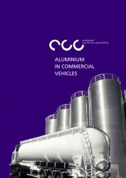 ALUMINIUM IN COMMERCIAL VEHICLES - Het Aluminium Centrum