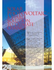 Solar Photovoltaic – - mbipv project