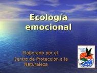 Ecología emocional - Centro de Protección a la Naturaleza