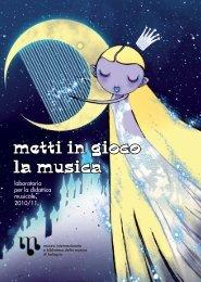 workshop program 2010/2011 (.pdf ) - Museo internazionale e ...