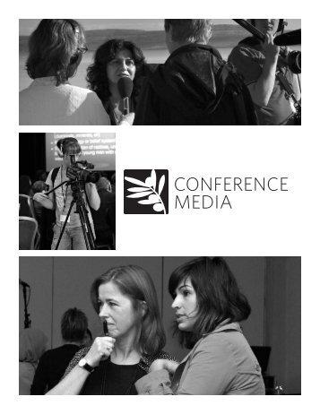 conFeRence medIA - Nobel Women's Initiative