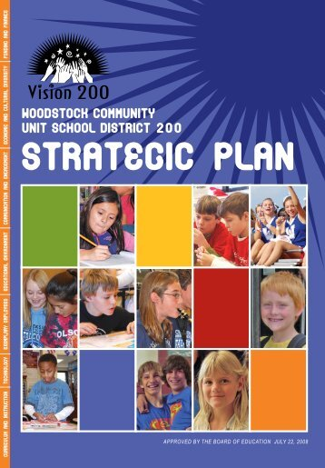 Strategic Plan Brochure - Woodstock School District 200