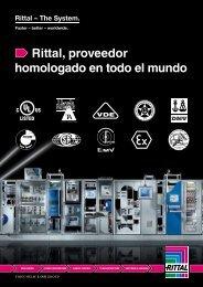 Rittal, proveedor homologado en todo el mundo