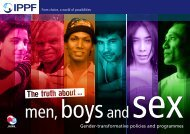 Gender-transformative policies and programmes - IPPF
