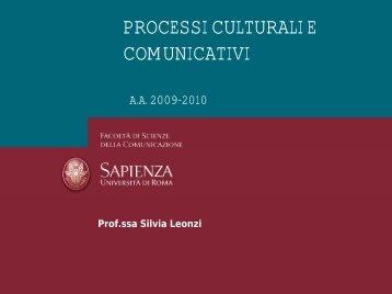 comunicazione - Dipartimento di Comunicazione e Ricerca Sociale