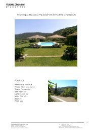 Charming and Spacious Provencal Villa In The Hills of Ramatuelle ...
