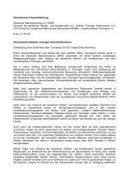 Gemeinsame Pressemitteilung Deutscher Naturschutzring ... - VdHK
