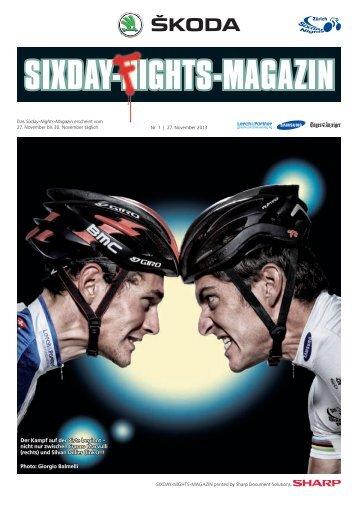 Sixday-Nights Magazin 1 - 6-Tagerennen Zürich