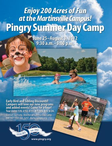 Pingry Summer Day Camp - Pingry School