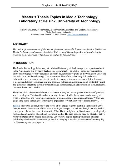 Phd thesis on technology management