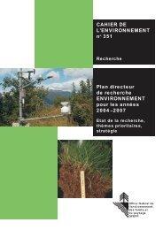 Plan directeur 2004 – 2007 - admin.ch