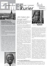 MEF Kurier 1-2013.pdf - Pastorale Informationen