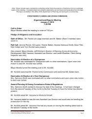PC 01-03-12 Org Reg Mtg.pdf - Streetsboro