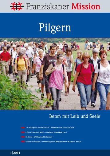 Pilgern - Franziskaner