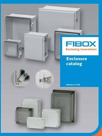 Enclosure catalog - Fibox