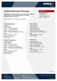 Hotelempfehlungen Ellwangen - Inneo