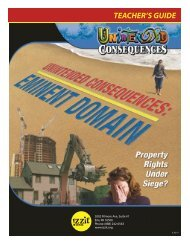 Unintended Consequences: Eminent Domain Teacher's ... - Izzit.org