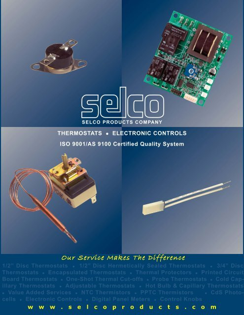 Project1 Layout 1 Qxd Selco Products Company