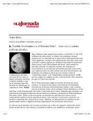 A diferencia del lado cercano de la Luna, el lejano presenta ... - UNAM