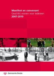 Manifest en convenant Geschikt wonen voor ... - Gemeente Breda