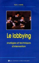 Lobbying by Frank Farnel