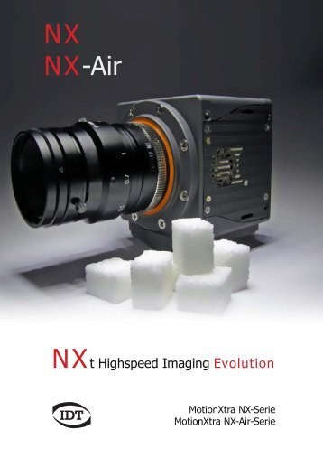 MotionXtra NX/NXair Serie, August 2012 - Imaging Solutions GmbH